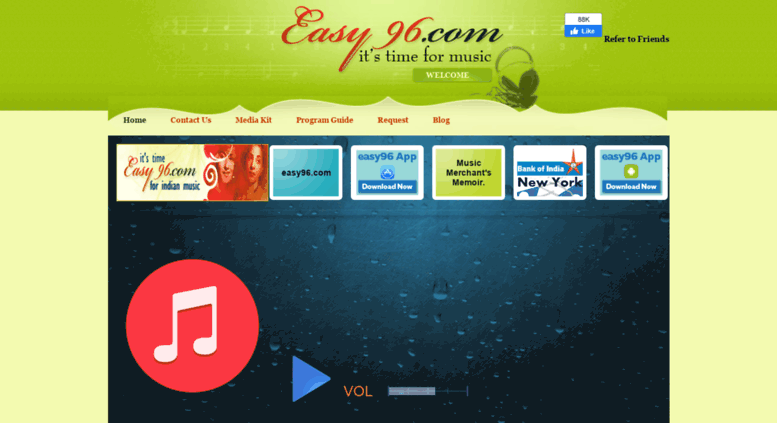 Access easy96 com  Indian Radio Station in USA, Listen to