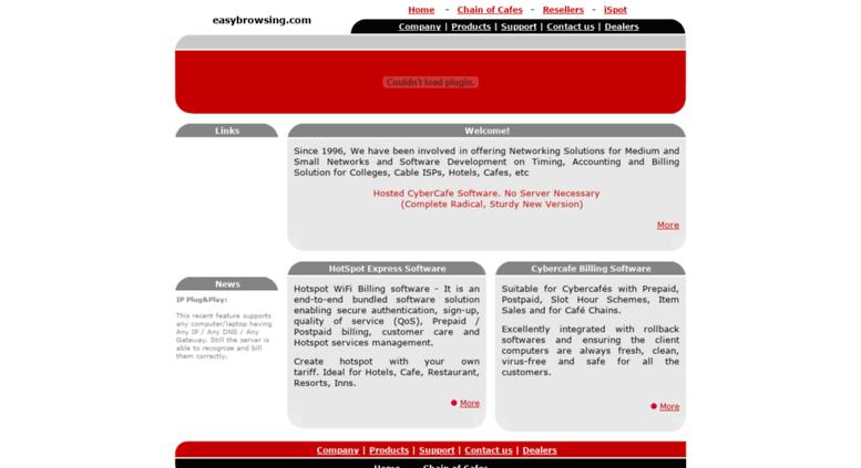 Access easybrowsing com  Hotspot Billing Software, Hotel Internet