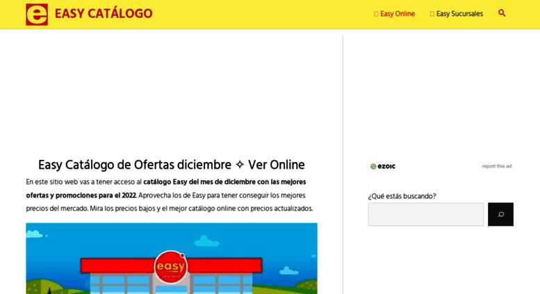 3023d171 Access easycatalogo.com. Easy catálogo online - Ofertas Argentina ...