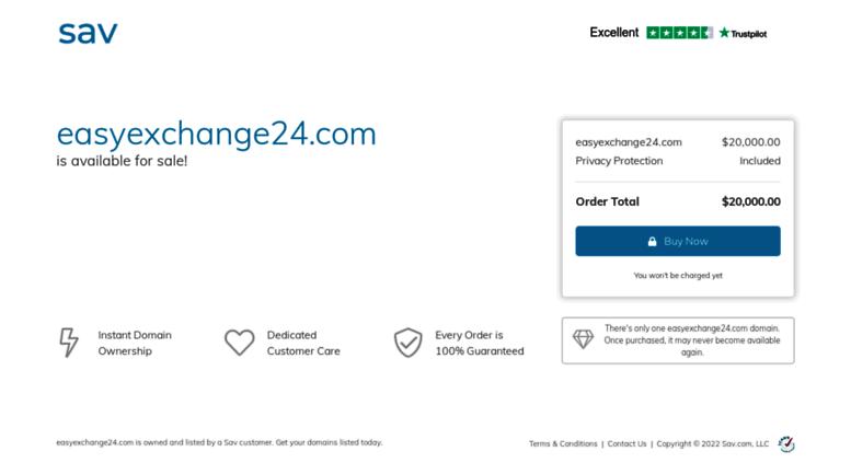 Access easyexchange24 com  Exchanger - Instantly exchange