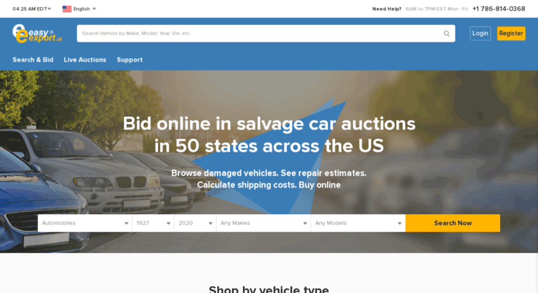 Access easyexport us  Buy Damaged Cars at Live US Car