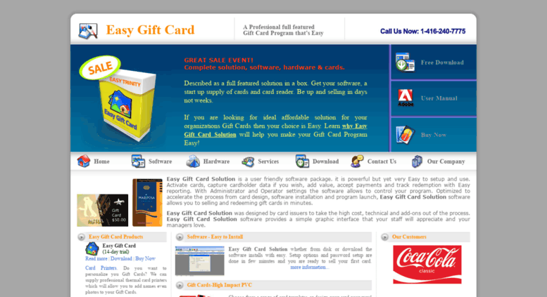 Access Easygiftcardsolution Easy Gift Card Management For Small