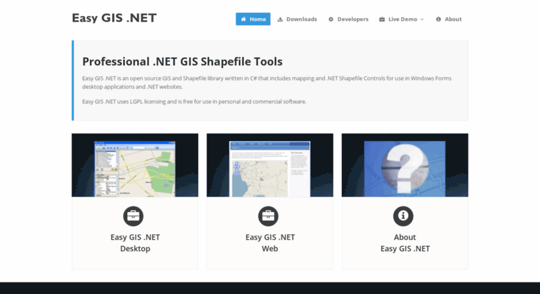 Access easygisdotnet com  Easy GIS  NET - GIS and Mapping