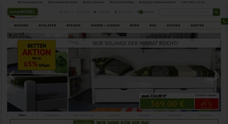 af882bbc6d4e7b Access easymoebel-shop.de. Easy Möbel Shop - JETZT bis zu -70 ...