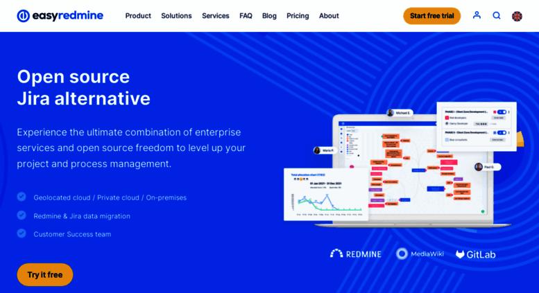 Access easyredmine com  Redmine plugins, hosting, solutions