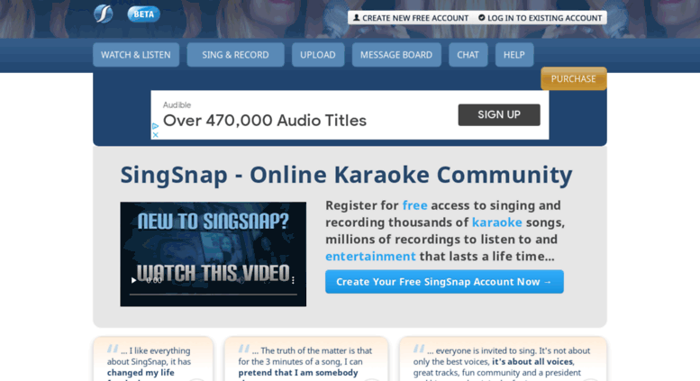 Access eatsleepmusic com  Online Karaoke - Sing & Record Songs For