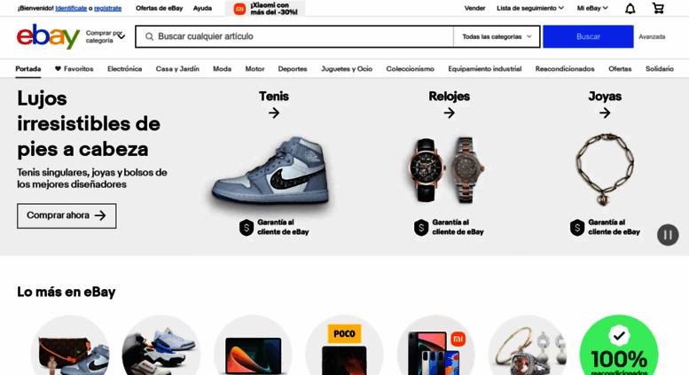 Access ebay.es. Comprar y Vender Electrónica, Moda, Móviles