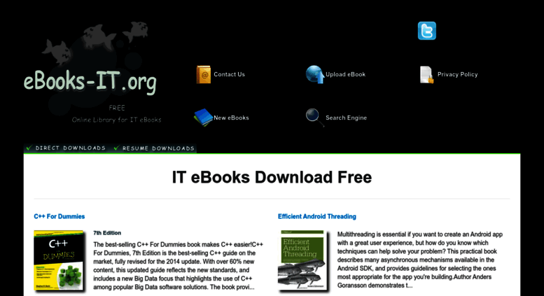 direct download sites for ebooks