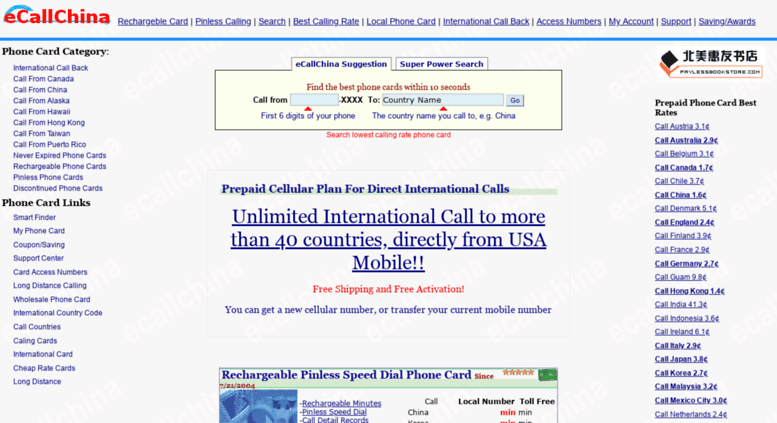 Cheap International Calls From Usa