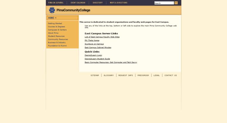 Access Ecc Pima Edu Pima Community College Directories