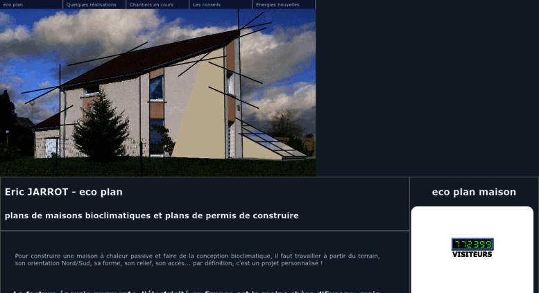 Access Eco Plan Maison Com Auto Construction De Maison Bioclimatique Eco Plan Maison Passive