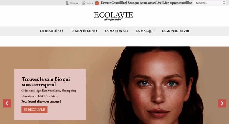 17107e9bfe7 Access ecolavie.fr. ECOLAVIE   vente à domicile cosmetique bio-vdi ...