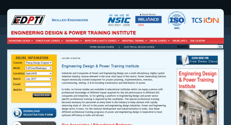 Access edpti com  Piping Design Course, Piping Design