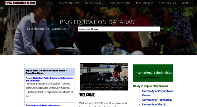 Access edu pngfacts com  Papua New Guinea Education News