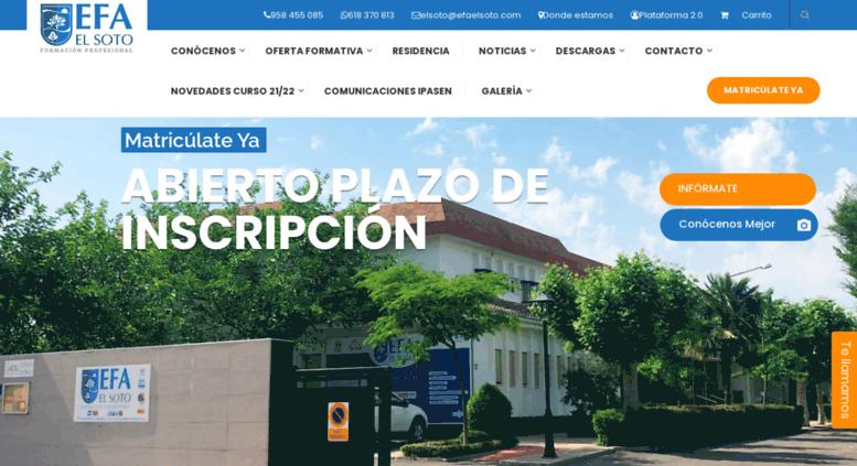 Access Efaelsoto Com Efa El Soto Ciclos Formativos Grado