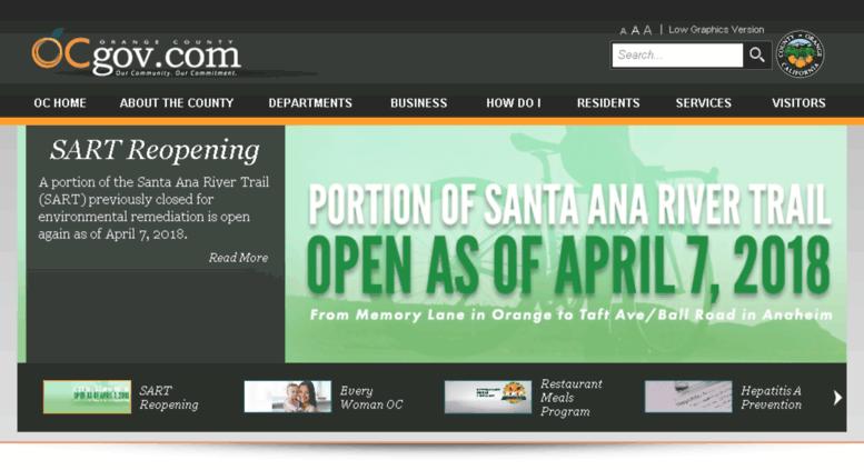 access egov ocgov com orange county california homepage