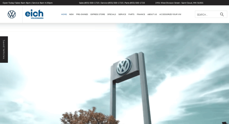 Vw Dealership Mn >> Access Eichvw Com New Used Volkswagen Dealer Eich Vw