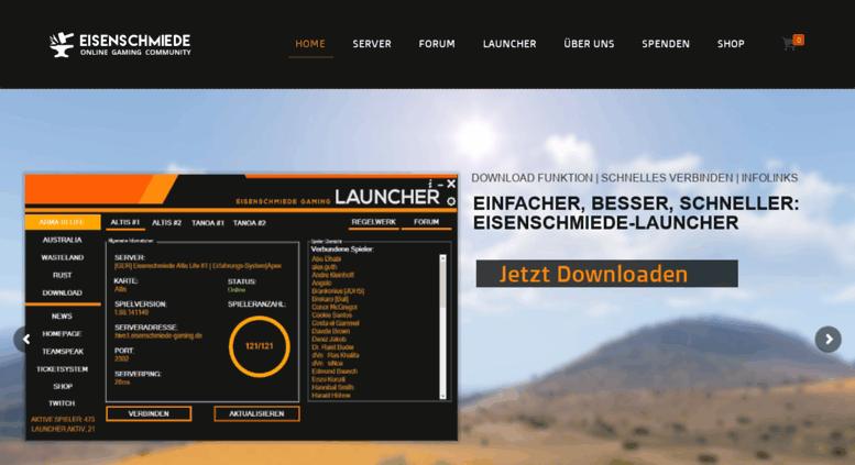Access eisenschmiede-altislife de  Eisenschmiede-Gaming de