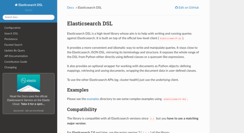 Elasticsearch Dsl Using