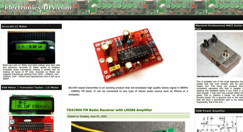 access electronics diy com electronics diy quality electronicelectronics diy com screenshot