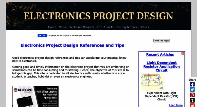 access electronics project design com electronics project design