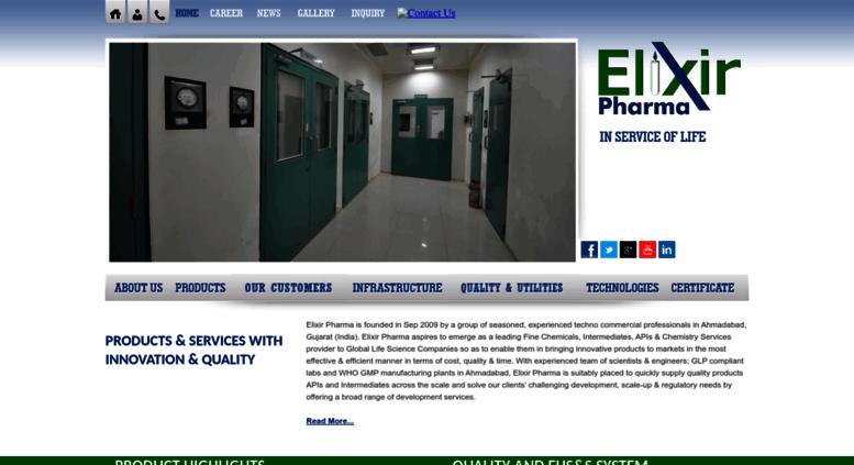 Access elixirpharma in  Elixir Pharma : Glibenclamide Bp