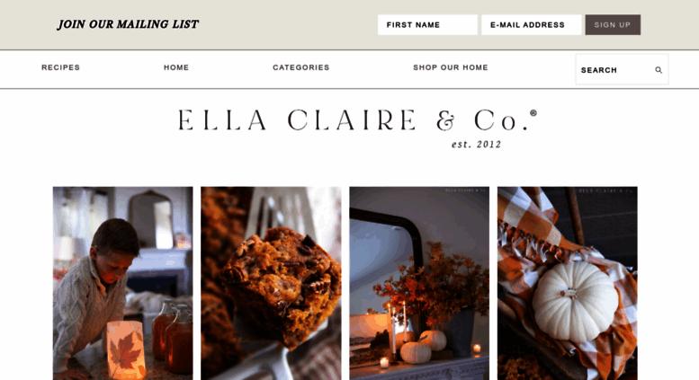 Ellaclaireinspired Ella Claire