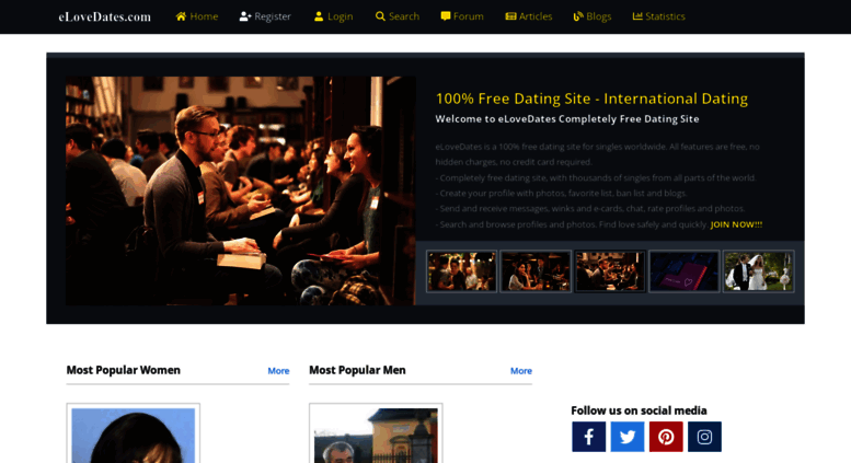 gratis dating site forum