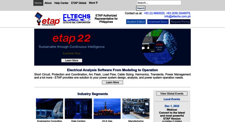 Access eltechs com ph  ETAP Philippines | Short Circuit