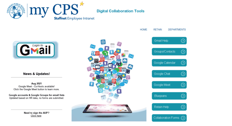 Access email cps-k12 org  CPS WebAccess