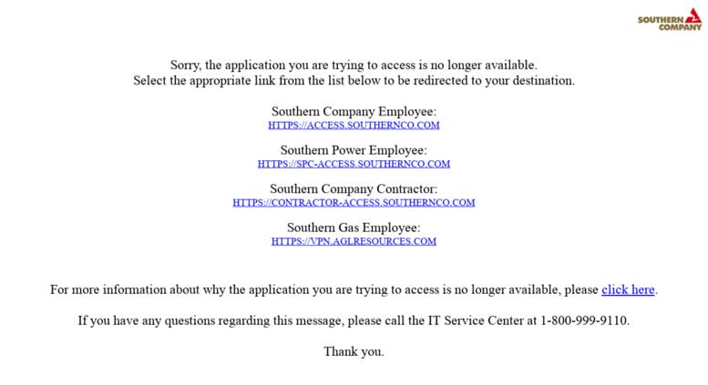 access southernco com login
