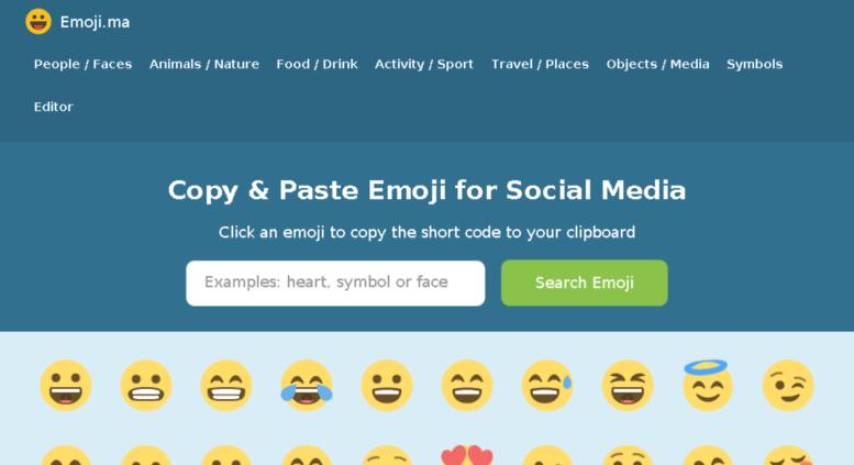 Access emoji ma  Emoji ma - Copy and Paste Emoji for Social Media