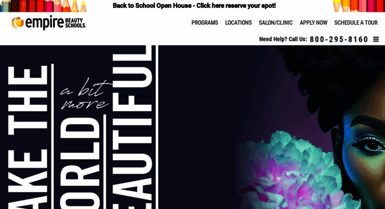 Access empire edu  Empire Beauty School: Cosmetology Schools