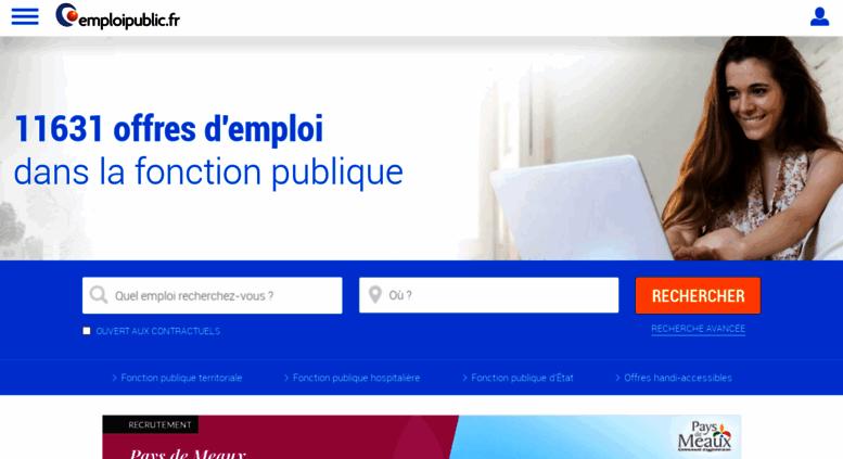 dec7bcceff4 Access emploipublic.fr. Emploi