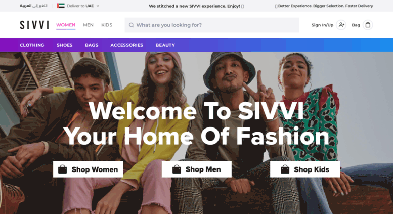493fa4aff4b Access en-ae.sivvi.com. SIVVI.COM one-stop-fashion-shop UAE  Winter ...