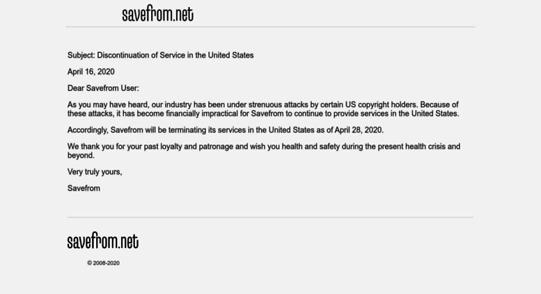 Access en savefrom net  Online video downloader | Download videos