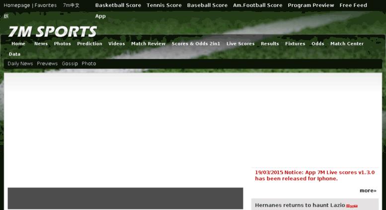 Access en2 7m cn  7M sports, soccer, basketball, tennis