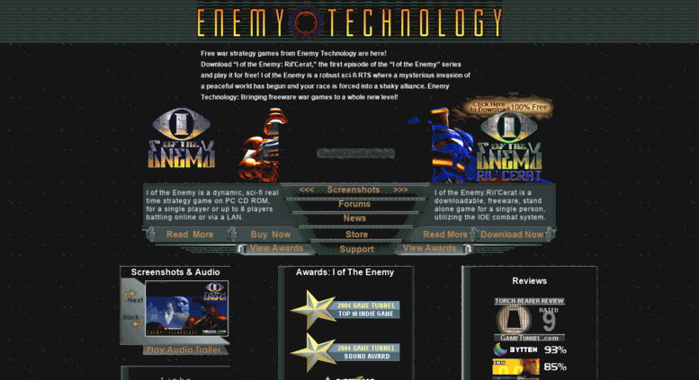 Access enemytechnology com  Free War Strategy Games from