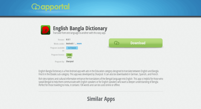 Access english-bangla-dictionary apportal co  English Bangla