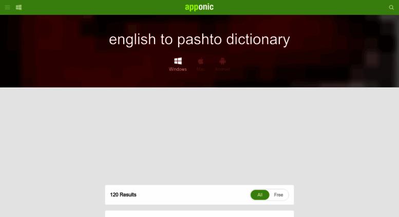 English to pashto dictionary pdf enpoks.