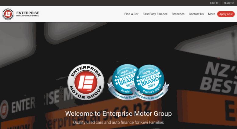 Enterprise Auto Finance >> Access Enterprisecars Co Nz Car Finance Nz Car Loans No Deposit