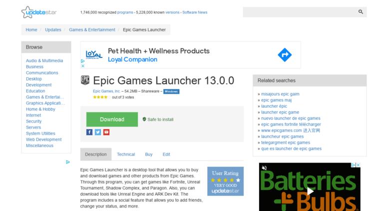 Armouredvehicleslatinamerica : These Telecharger Epic Games Launcher