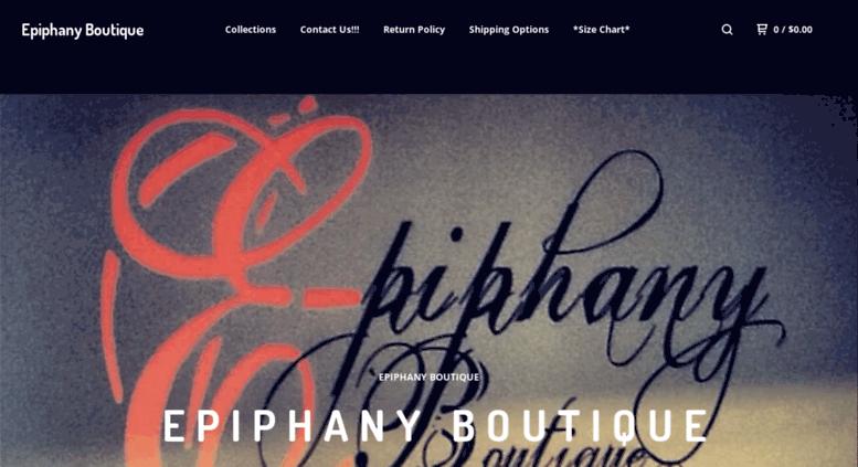 Access epiphanyboutique bigcartel com  Epiphany Boutique — Home