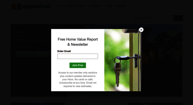 Get A Free Estimated Home Value Report Eppraisal
