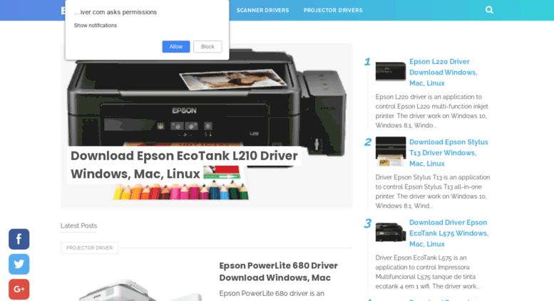 Download driver printer scanner epson l220 | Download Epson
