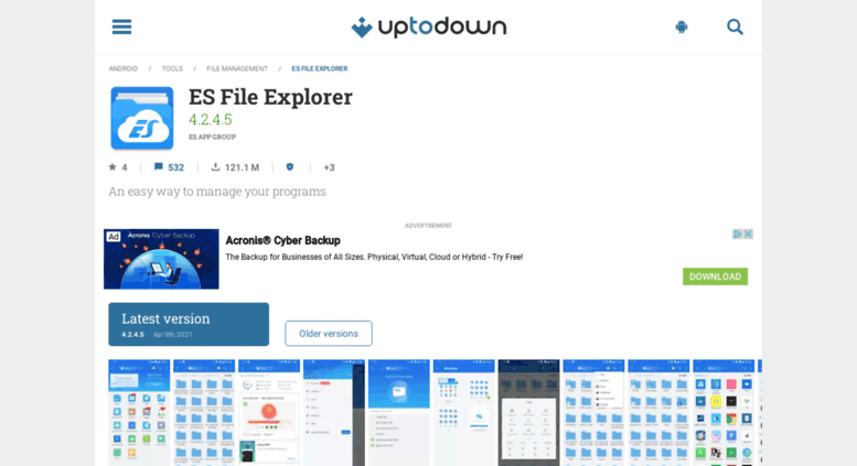 Access es-file-explorer en uptodown com  ES File Explorer