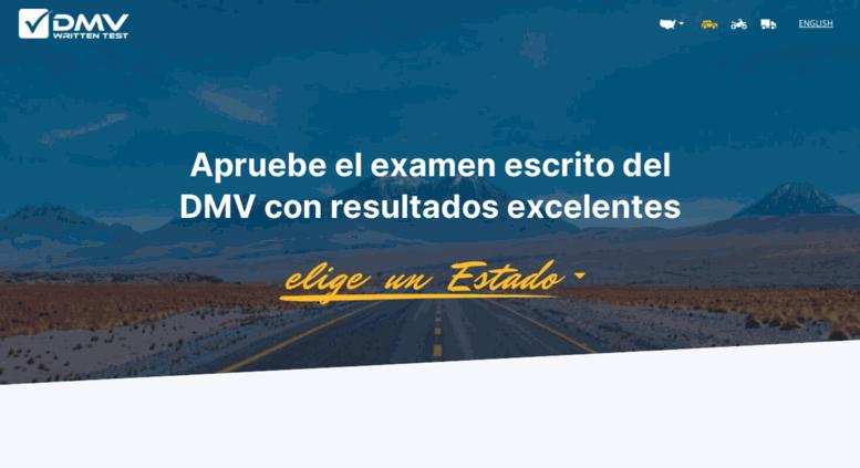 Access es dmv-written-test com  Práctica Test de Licencia