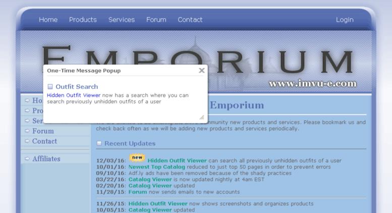 Access es imvu-e com  IMVU-E com - The IMVU Emporium