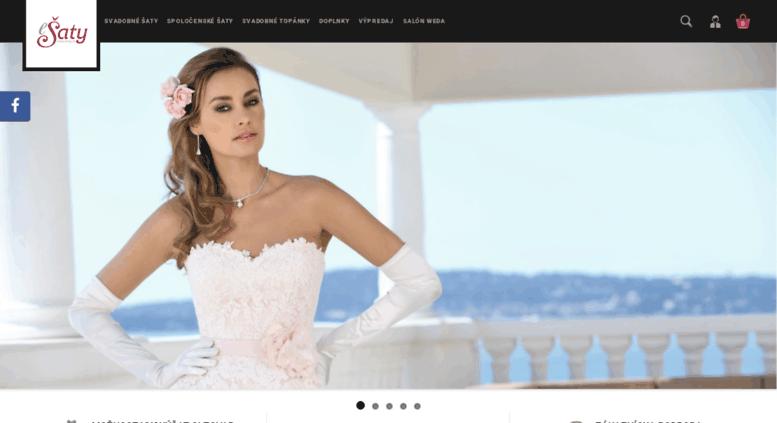 4798e443cc50 Access esaty.sk. Svadobný obchod a eshop predaj svadobných šiat ...
