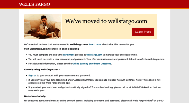 Access eservices wellsfargodealerservices com  eServices